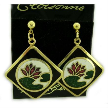 Cloisonne Stud Earrings SE20